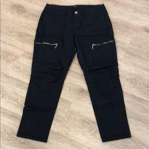 White House Black Market WHBM Size 10 Black Pants